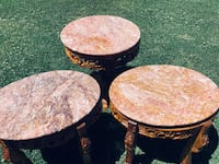 Genuine Marble Table Set
