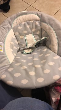 Gray and white camouflage bouncer have one more  Bakersfield, 93306