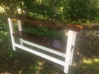 Reclaimed Cedar Farm House console table Surrey, V4N