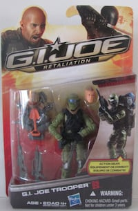 Retaliation Movie G.I. Joe SOLDIER Richmond