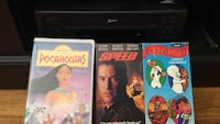 VCR with 4 movies San Jose, 95125