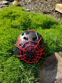 Childs Marvel Spiderman helmet Hollins