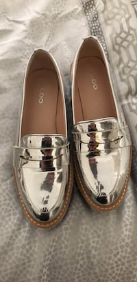 Aldo silver loafers Vaughan, L4H