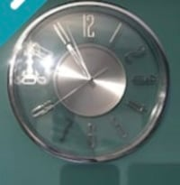 round silver-colored analog watch Vaughan, L4L 0C4