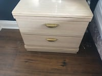 brown wooden 3-drawer chest Bowmanville, L1C 5L2
