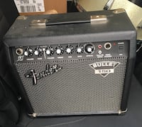 black and gray Fender guitar amplifier Toronto, M4W 1A9