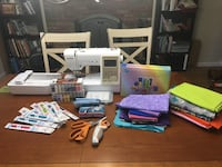 Sewing and Embroidery machine plus extras Monrovia, 21770