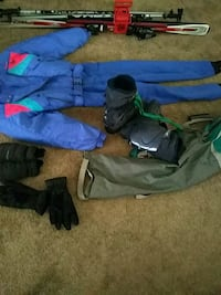 Complete Woman's Ski Equipment