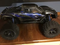 black and blue RC speed rally car Edenton, 27932