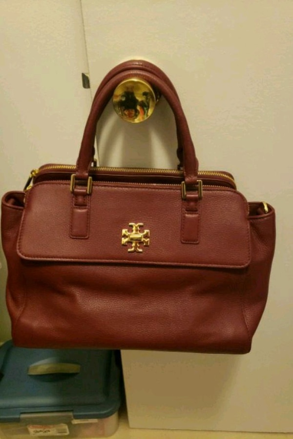 Torry Burch Burgundy Color Purse