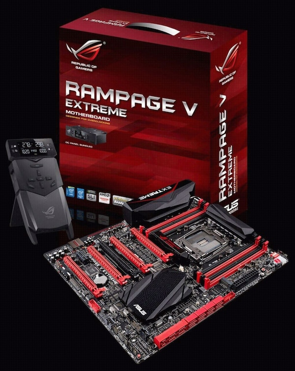 Rampage extreme motherboard!