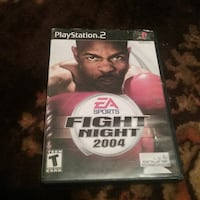Sports Fight Night 2004 PS4 case