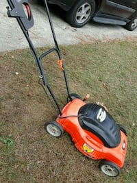 red and black push mower Dacula, 30019