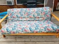 blue and pink floral fabric sofa Prineville, 97754