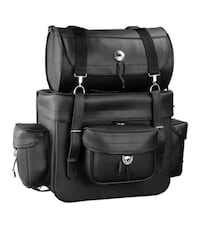 Motorcycle large touring pack