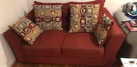 red fabric 2-seat sofa Bethesda, 20817