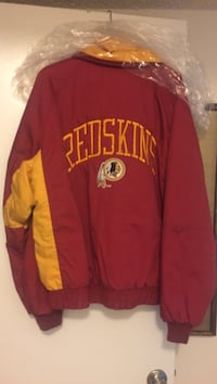 Redskins jacket. Wear team colors and bring some luck to win the next game. Virginia Beach, 23451