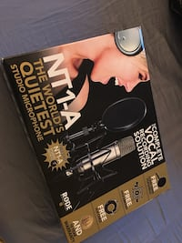 Rode NT1A Anniversary Vocal Condenser Microphone Package Vancouver, V5X 0C4