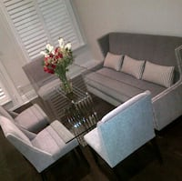Beautiful glass dining or kitchen table Toronto, M8V 1W2