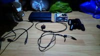 black Sony PS4 console with controller Haslingden, BB4 5NR