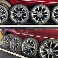 Ford Mustang GT California Special 10 Spoke 4x 5x114.3 Wheels Rims & Tires 245/45/ZR19 Arlington, 22207