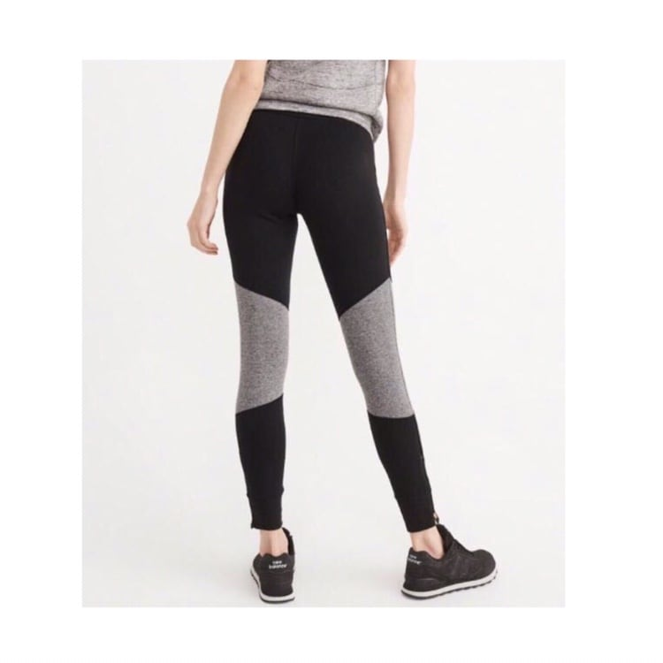 Abercrombie Fleece Active Leggings