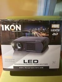 IKON projector 4k with 80' Screen Toronto, M1G 2M6