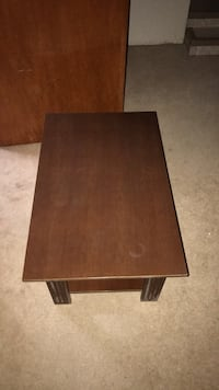 rectangular brown wooden coffee table Calgary, T2J 0A6
