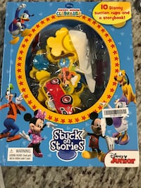 10 Disney suction cups and story book with  Warrenton, 20186