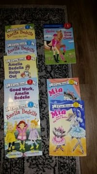 Girls K-2nd Grade early learning books  Vienna, 22180