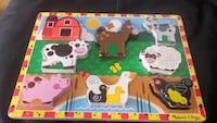 Farm animals puzzle age 2+ Mississauga, L5A 2J8