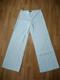 French Connection White Linen Pants - Size 8 Surrey, V3R 1T1