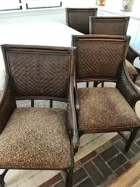 Set of 4 dining chairs from BAER Boca Raton, 33496