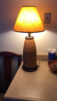 Black and yellow table lamp Poway, 92064