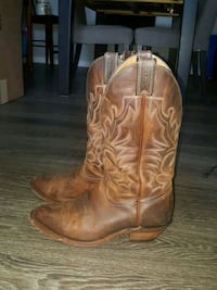 Genuine Leather Boulet Cowboy Boots - Men's Size 8 London, Ontario, N6J