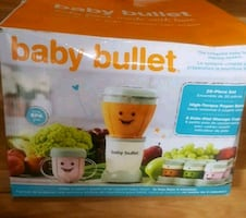 Magic Bullet 20-Piece Baby Food Making system