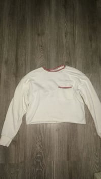 Forever 21 white croptop Barrie, L4M 6A6