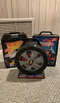 Lot of Three Hot Wheels Cases