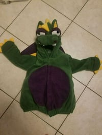 Dragon costume 12-24 months Barrie, L4N 8V4