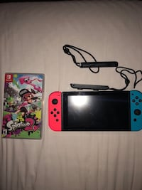Blue and red nintendo switch (NO CABLES) Mahopac, 10589