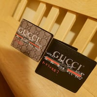 new Wallet Gucci for men different colour black and gold Ottawa, K1V 0G8