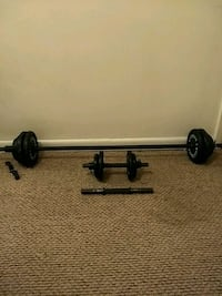 Free weights 72lbs Alexandria, 22314