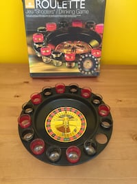 black and red car steering wheel game controller
