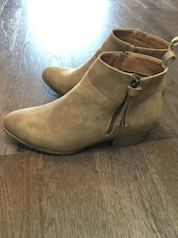 Brand New in Box size 9 Beige Booties Moncton, E1A 5W5