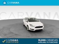 2015 Ford Focus sedan SE Sedan 4D White Brentwood