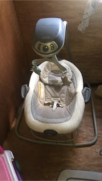 baby's white and gray cradle and swing Ahoskie, 27910