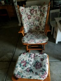 white and pink floral padded armchair Castle Rock, 80108