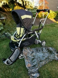 baby trend LX sit n stand double stroller Brampton, L6R 1L5