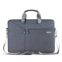 Gearmax 13.3 Inch Laptop Shoulder Bag Waterproof Sleeve Case with Accessory Pocket for Macbook Air/Pro Retina Microsoft Surface Pro 4/3 (Grey) North Las Vegas