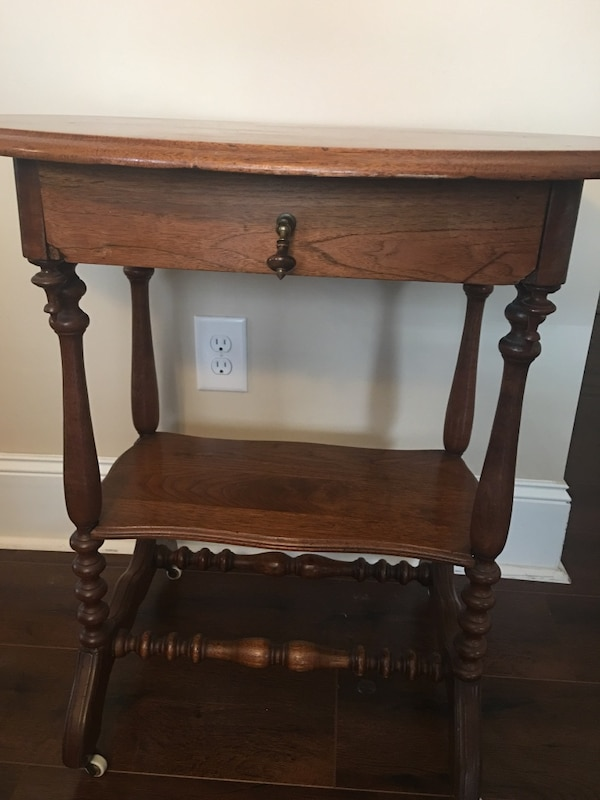 Used Antique Walnut Oval Table For Sale In Grayson Letgo